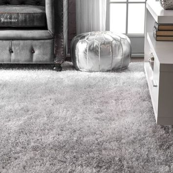 nuLOOM Handmade Plush Shag Rug | Overstock.com Shopping - The Best Deals on Area Rugs