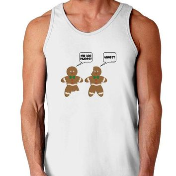 DCKL9 Funny Gingerbread Conversation Christmas Loose Tank Top