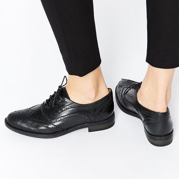 Rule London Leather Lace Up Brogues at asos.com