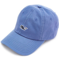 Vineyard Vines Signature Whale Logo Baseball Hat- Flag Blue