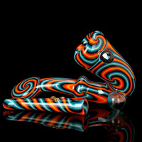 Fire & Ice Sherlock Chillum Set