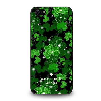 KATE SPADE GREEN LEAFS iPhone 5 / 5S / SE Case