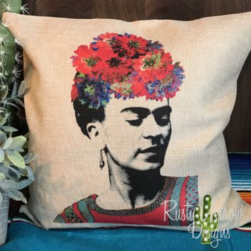 Frida Kahol Pillow Cover