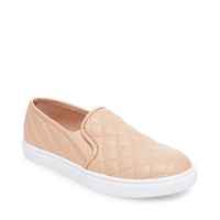 Neutral Quilted Slip On Sneaker | Steve Madden ECENTRCQ
