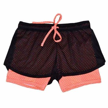 Cool Women's Athletic Shorts for Running, Yoga, Sports