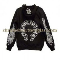 2ne1 Style Chrome Hearts Black White Horse Shoe Hoodie [Black White Horse Shoe Hoodie] - $189.00 : Chrome hearts online shop:chrome hearts jewelry 2012 collection!