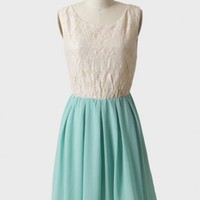 dreaming of frost lace dress at ShopRuche.com