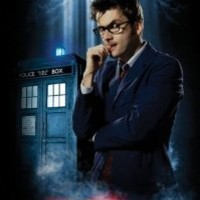 Doctor Who - TV Show Poster (The Doctor, The Tardis & Smoke) (David Tennant) (Size: 24'' x 36'')