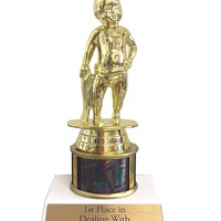 1st Place in Dealing with Motherfucking Crybabies Trophy