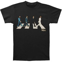 Beatles Men's  Golden Slumbers T-shirt Black