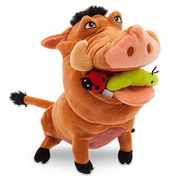 Disney Store The Lion King Pumbaa Plush Medium 12 1/2'' New With Tags