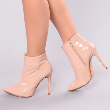 Look This Way Boot - Nude
