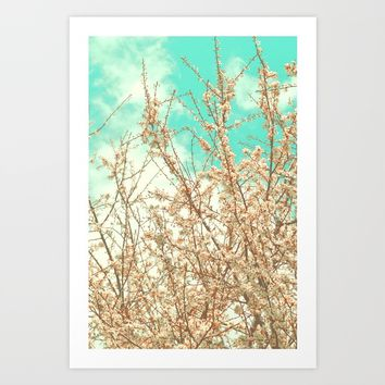 Blossoms Art Print by ARTbyJWP