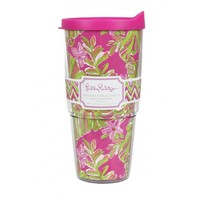 Insulated Tumbler with Lid in Jungle Tumble by Lilly Pulitzer