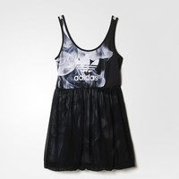 Adidas Originals Rita Ora White Smoke Tank Dress ALL SIZES FREE SHIPPING S23566