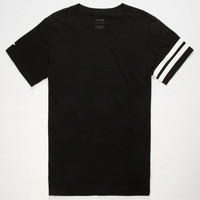 Tavik Selector Mens Tall Tee Black  In Sizes