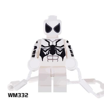 Deadpool Dead pool Taco Single Sale White Spiderman With Climbing Rope  Spiderman Legoings Bricks Model Building Blocks Toys for Children Gifts AT_70_6