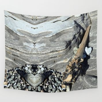 Heartstone Wall Tapestry by anipani