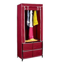 New Clevr Portable Closet w/ Drawers Space Oraganizer Traveling Wardrobe Dresser