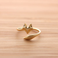 girlsluv.it - FOX's TAIL ring, 2 colors