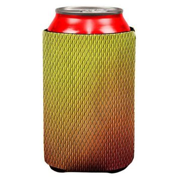 DCCKJY1 Halloween Red Fire Dragon Scales Costume All Over Can Cooler