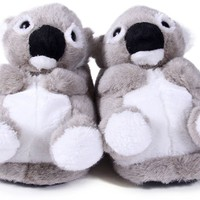 Happy Feet Womens and Mens Animal Slippers