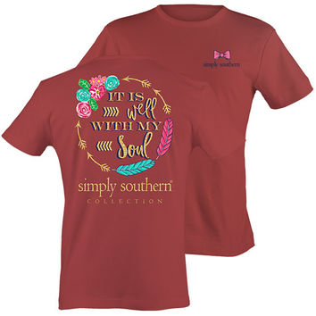 Simply Southern Preppy Well With My Soul T-Shirt