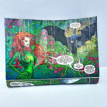 Poison Ivy Comic Book Pouch - Clutch - Purse