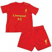 Liverpool F.C. Shirt & Short Set 23 yrs