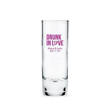 Personalized Tall Shot Glass (Pack of 1)