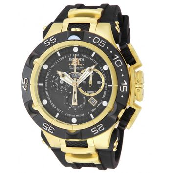Invicta 12887 Men's Subaqua Noma V Black Dial Black Rubber Strap Chrono Watch