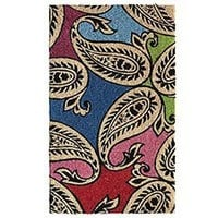 Product Detail - Bright Paisley Doormat