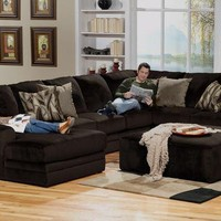 Everest 3 Pc. Sectional (Reverse)         -                Contemporary         -                Shop By Style         -                theroomplace - Categories                       - RoomPlace.com
