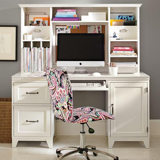 Hampton desk from pbteen bedroom - Amazing teenage girl desks ...
