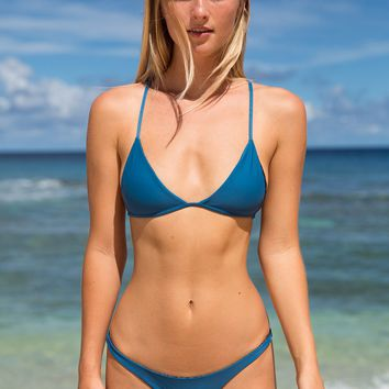ACACIA Swimwear 2018 Shaka Top in Salt Water