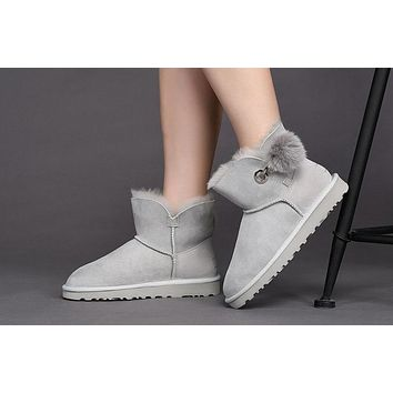 Best Deal Online Fashion UGG LIMITED EDITION CLASSICS GREY VIOLET Boots Women Shoes 10