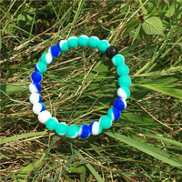 Lokai Bracelet Light Green/Blue