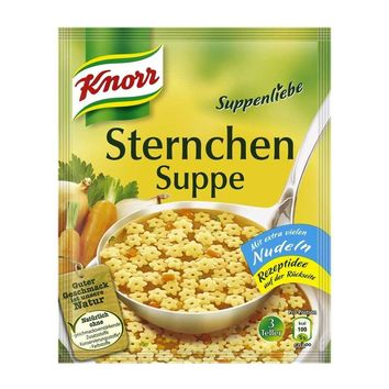 Knorr - Soup Love (Suppenliebe) Vegetable Star Soup, 2.9 oz