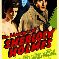 The Adventures of Sherlock Holmes 11x17 Movie Poster (1939)