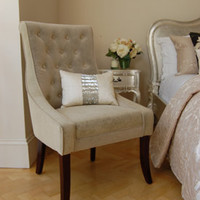 Claremont Button Back Armchair - Sweetpea & Willow London