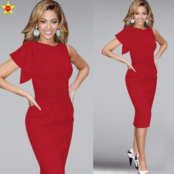 S-5XL Plus Size Casual Women Dresses New 2018 Fashion Butterfly Sleeve Draped Sexy Bodycon Bandage Dress Evening Party Dress