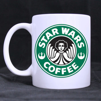 Star Wars Coffee Girl mug porcelain Coffee Mugs cups ceramic tea cup home decal White Cups gifts beer cup