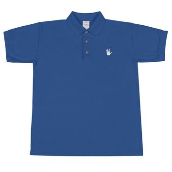 Live Long and Prosper Embroidered Polo Shirt