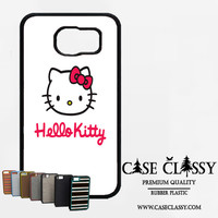 hello kitty white Samsung Galaxy S6 Edge Plus Case CaseClassy