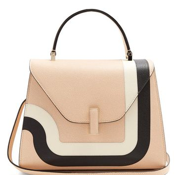 Iside medium striped grained-leather bag | Valextra | MATCHESFASHION.COM UK