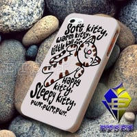 Funny Collection Cute Cat Soft Kitty Song design for iphone case samsung galaxy case ipad case ipod case