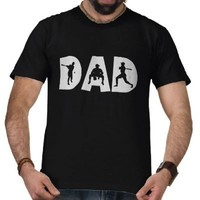 Baseball Dad Father's Day T-shirts from