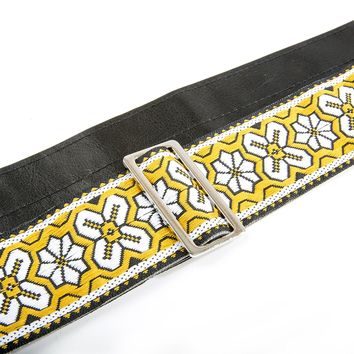 """2"""" vintage Ace products guitar strap"""