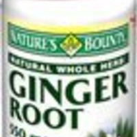 Nature's Bounty Ginger Root 550 mg, 100 Capsules
