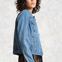 Button-Up Denim Jacket